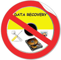 Say no to file recovery !