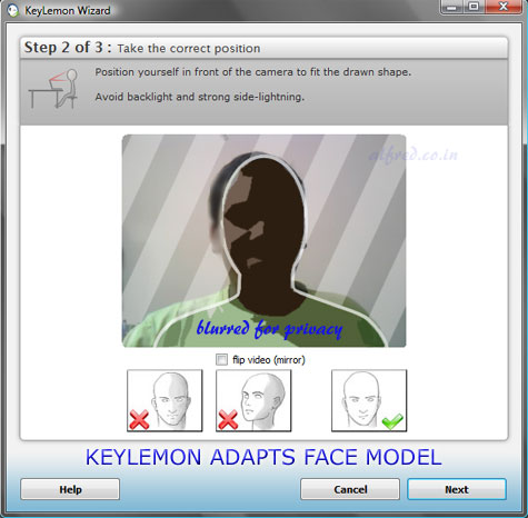 keylemon_adapt_face