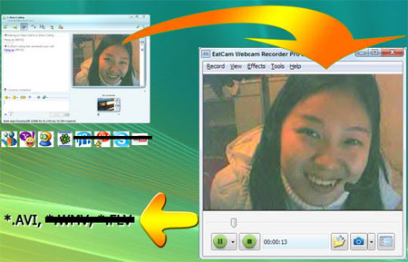 Is There A Way To Record Webcam Convos On Aim 120