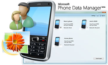 Microsoft Phone Data Manager