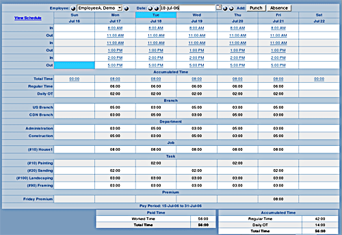 Free Opensource Employee Time Attendance Software
