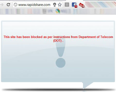 File sharing sites blocked in india by dot rapidshare how to access blocked sites ccuart Images