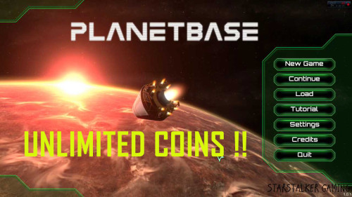 unlimited coins cheat planetbase