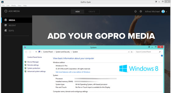 gopro quik desktop windows 8